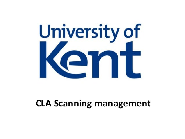 CLA Scanning management