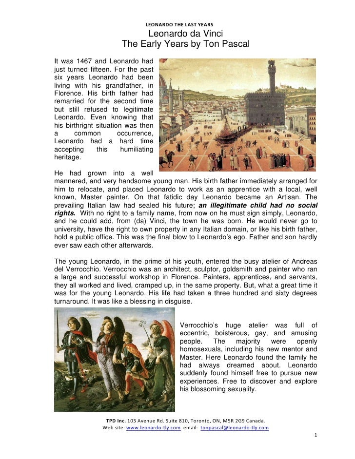 LEONARDOTHELASTYEARS                                                           Leonardo da Vinci                     ...