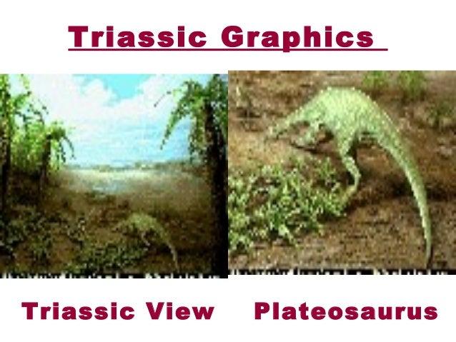 Triassic period plants