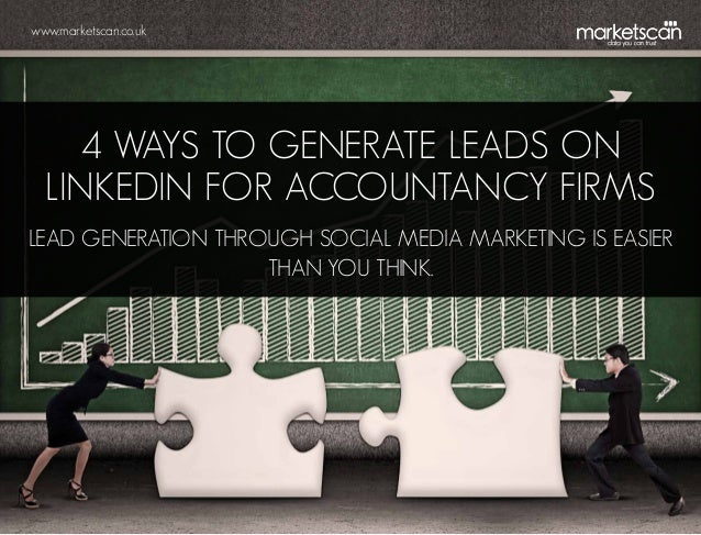 4 Ways to Generate Leads on LinkedIn for Accountancy Firms