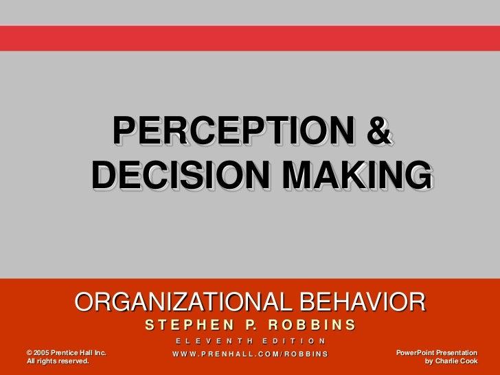 4.week 4 perception & decision making