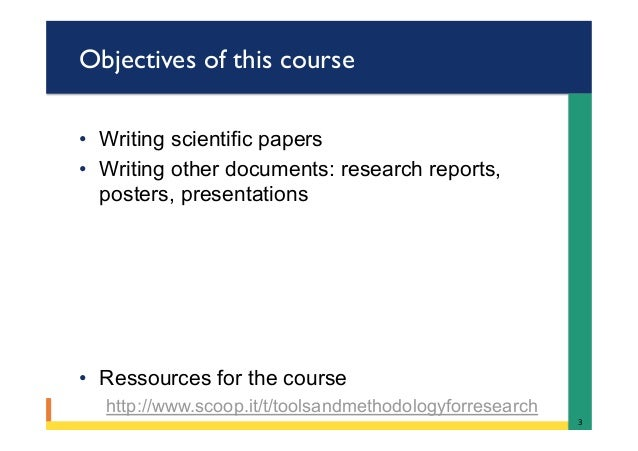 Scientific research paper writing service