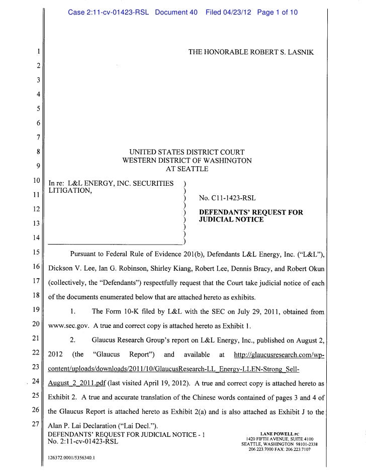 Case 2:11-cv-01423-RSL Document 40   Filed 04/23/12 Page 1 of 10