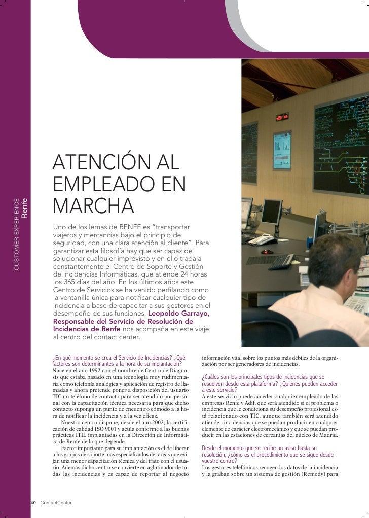 ATENCIÓN AL                                EMPLEADO EN                                MARCHACUSTOMER EXPERIENCE           ...