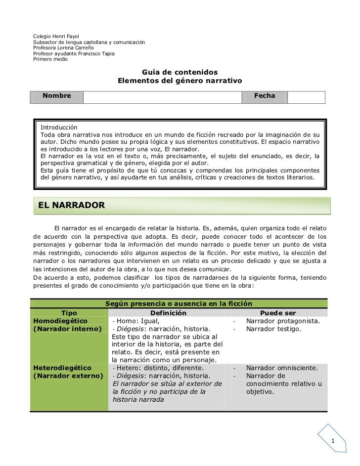 Colegio Henri FayolSubsector de lengua castellana y comunicaciónProfesora Lorena CarreñoProfesor ayudante Francisco TapiaP...