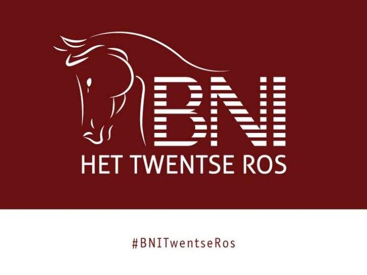 BNI Twentse Ros op 24-11-2011