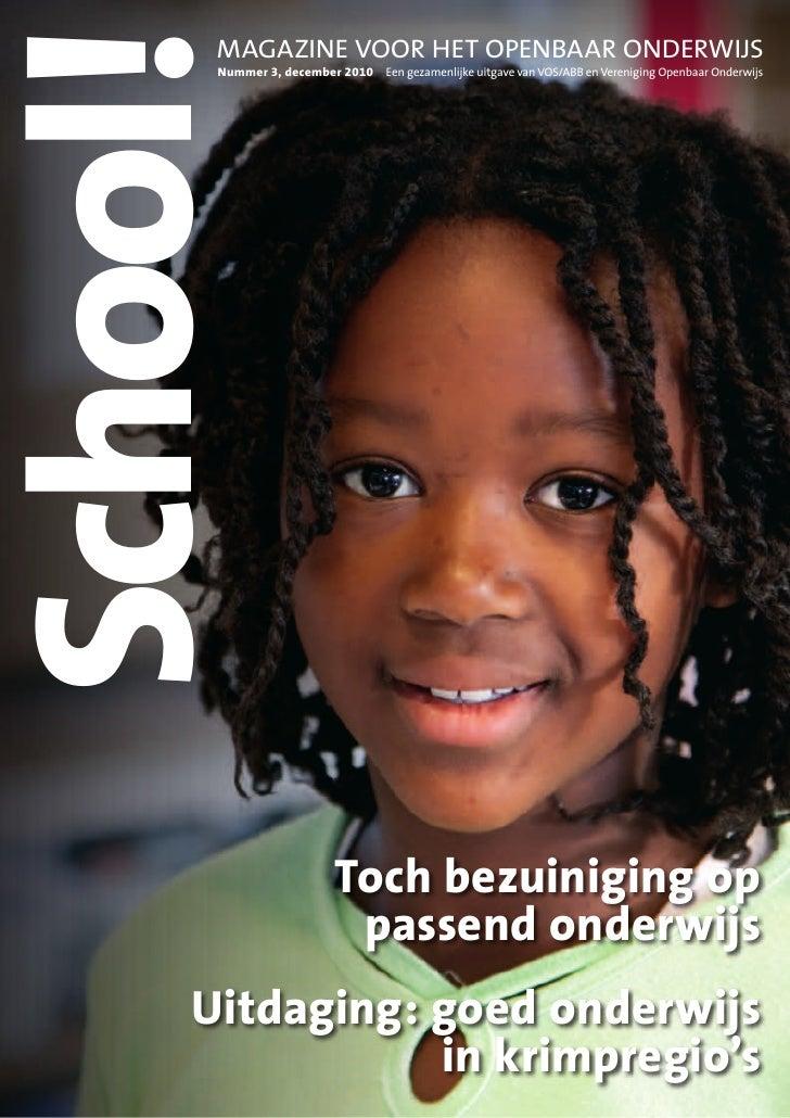 Decembernummer onderwijsmagazine School!