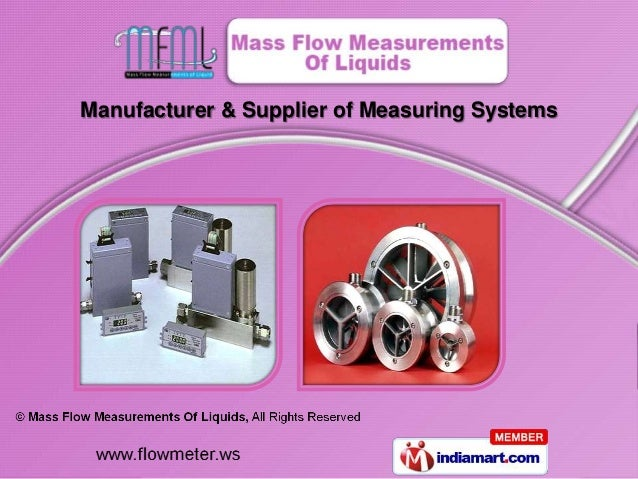 Manufacturer & Supplier of Measuring Systems