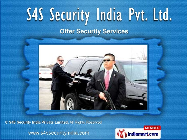 Offer Security Services
