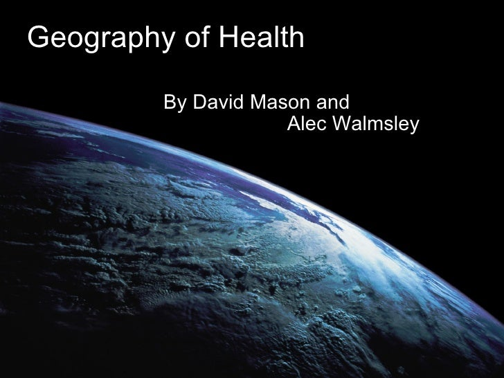 Geography of Health