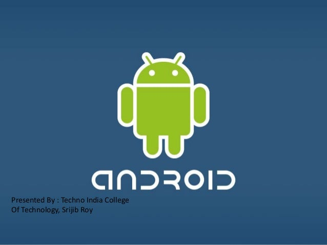 Basic android-ppt