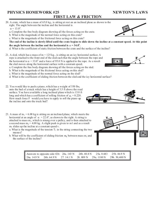 Inclined Plane Worksheet 6th Grade - Worksheets