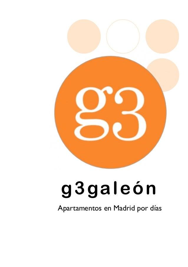G3 galeon apartamentos en madrid por dias - Apartamentos baratos madrid por dias ...