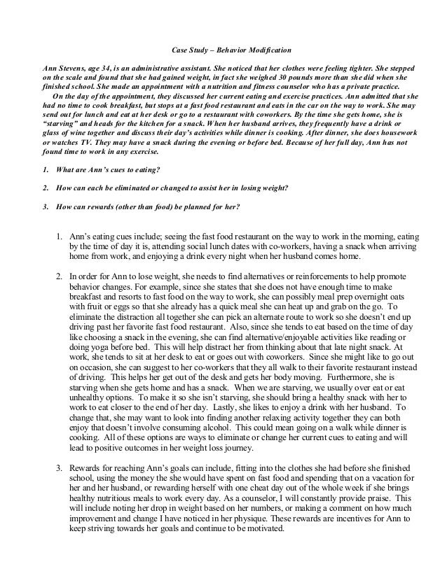behaviour modification case studies Case studies prev next  behaviour  behaviour modification with children  jan said that over the last year she has tried ignoring kim's behaviour but she.