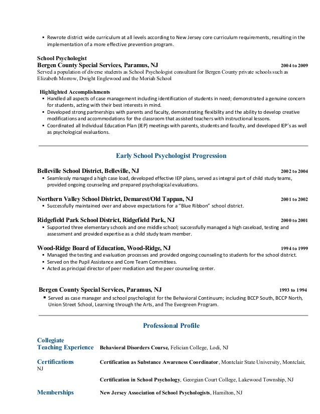 professional resume writing service new jersey