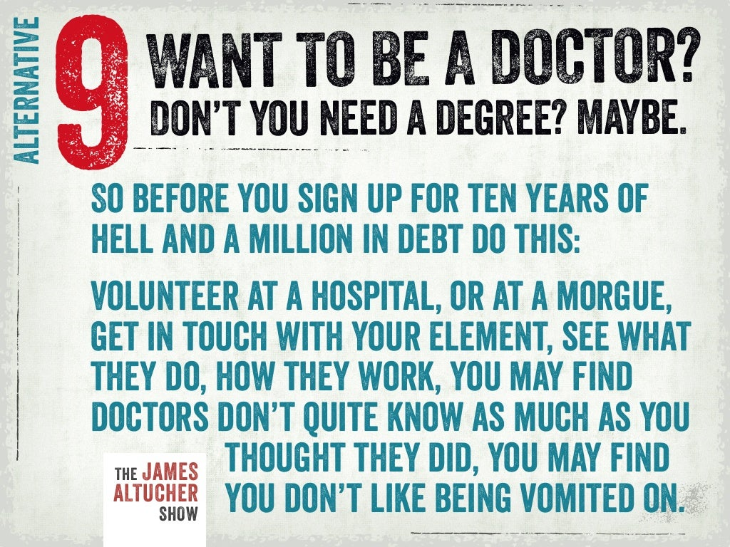 essay why be a doctor How to answer the med school personal statement & interview question: why do you want to become a doctor.