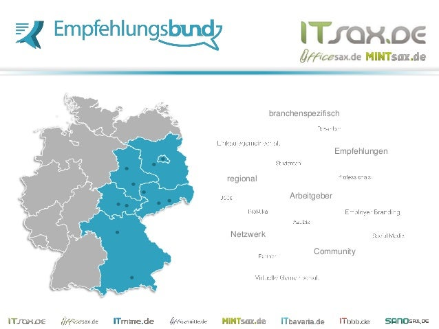 Empfehlungen Community Netzwerk regional branchenspezifisch Arbeitgeber