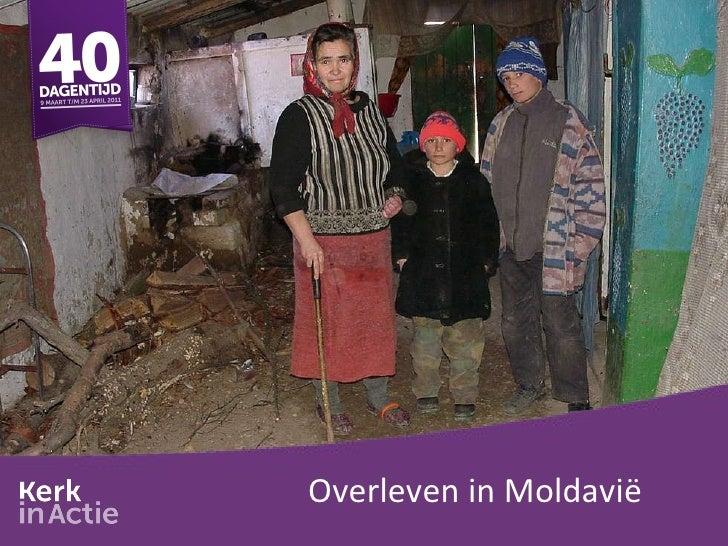 Overleven in Moldavië
