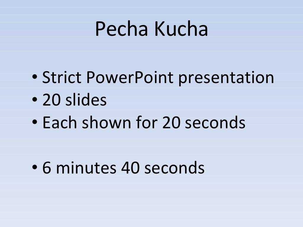 Pecha kucha strict powerpoint presentation for Pecha kucha template powerpoint