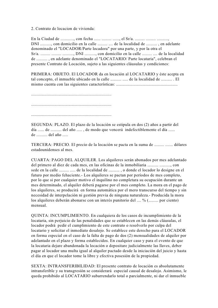 Contrato Alquiler Vivienda Ley 2013 | Search Results | MYBITVISE