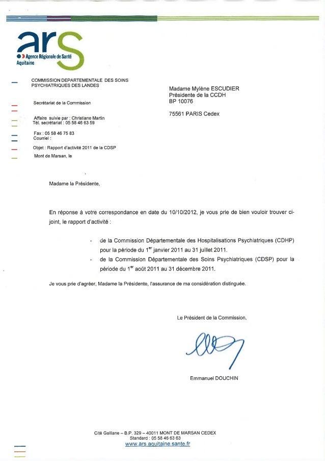 40 rapport activité cdsp 2011