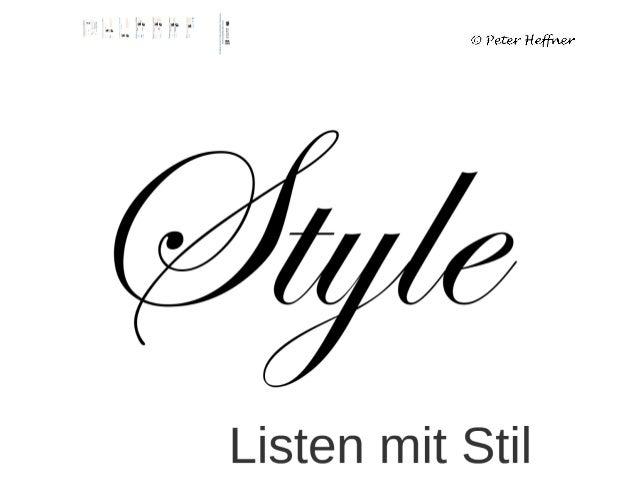 SharePoint Lektion #40: Listen mit Stil