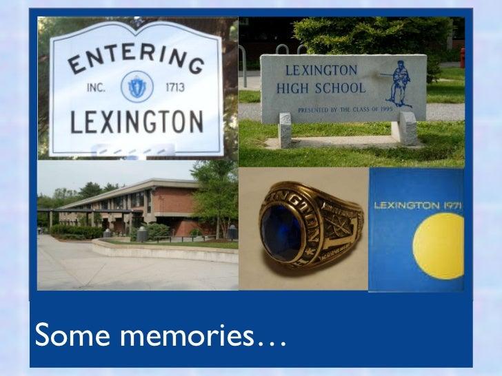 <ul><li>Some memories… </li></ul>