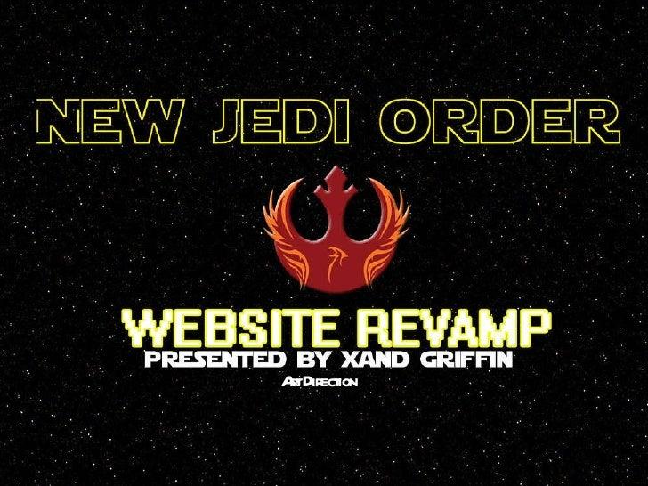 New Jedi Order Website Revamp