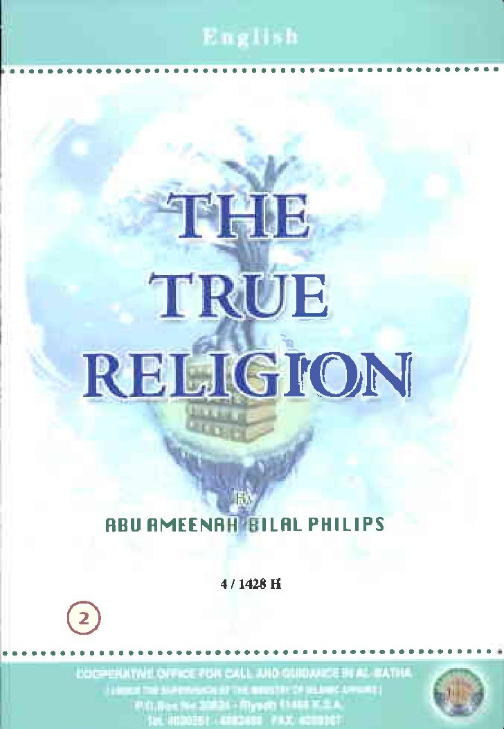 THE TRUE RELIGION