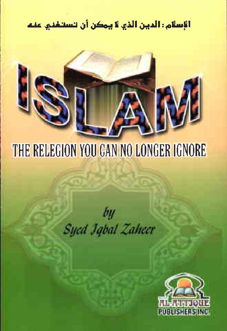 Islam  The Religion You can no Longer Ignor
