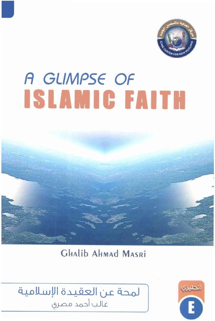 •      A GLIMPSE OF      ISLIMIC FIITI                       GHAlib AHMAd MASRi        i:i+.<>!l..w P 0 -'-! ii ~ 1I(j..C....