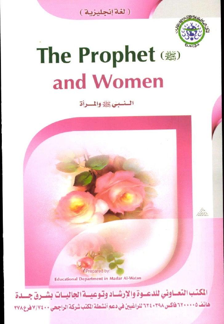 The Prophettsr         and Women                           tL     ttj*Ed'aijl                  tduotjo.rl   D.;_.'tm.nl in...
