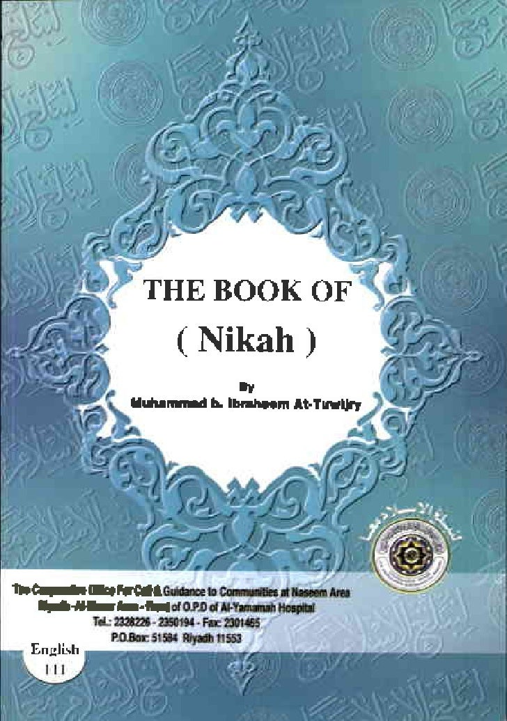 THE BOOKOF         ( Nikah ) .eidL      rtun&rrut