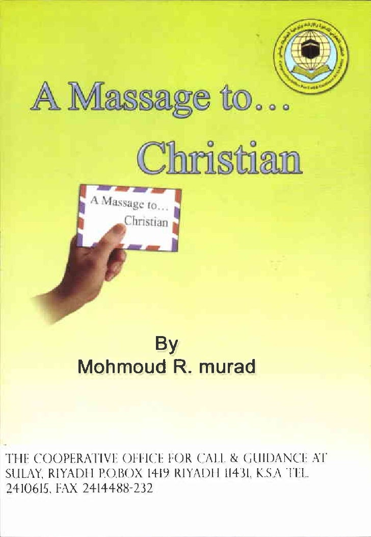 This message is for every Christian