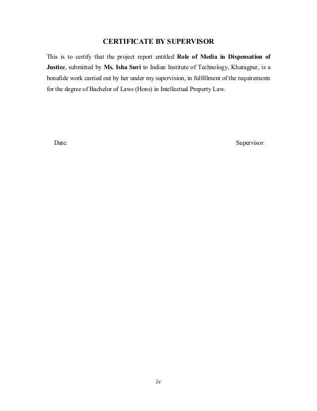 Dissertation organisation justice