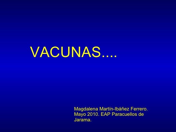 Presentación vacunas
