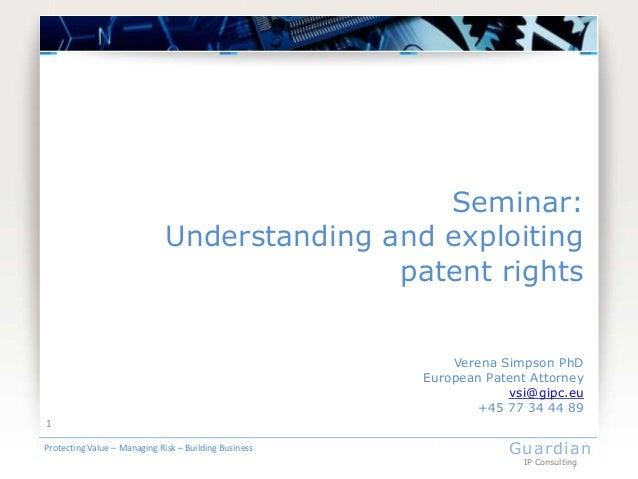 41631 lecture 2 pt2   patents