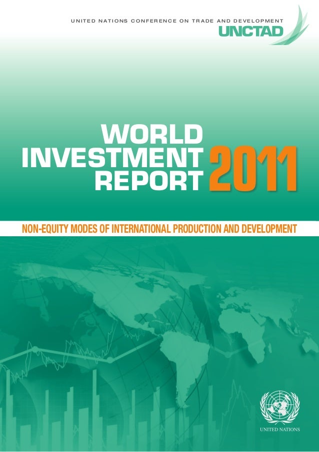 2011-2012 World Investment Report