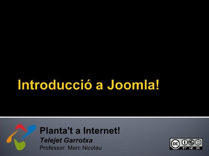4. Introducció a Joomla