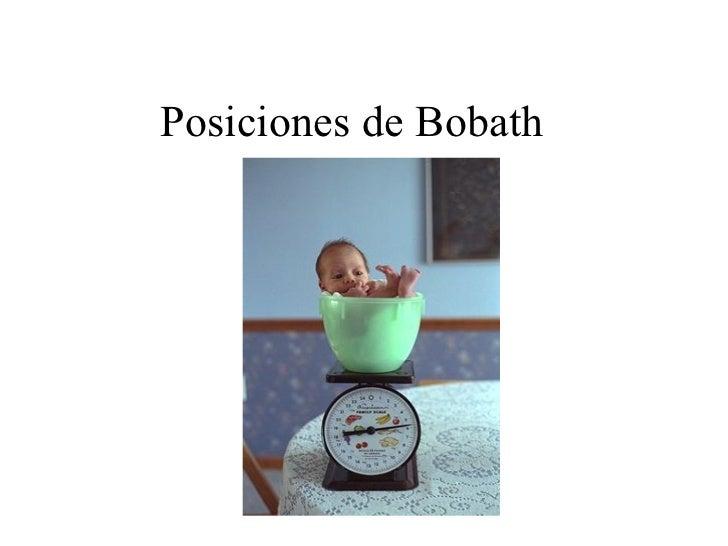 Posiciones de Bobath