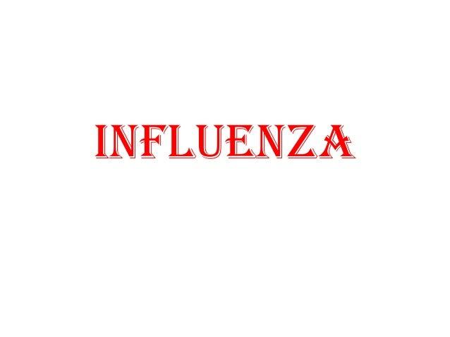42. Influenza (06-Nov-2013)