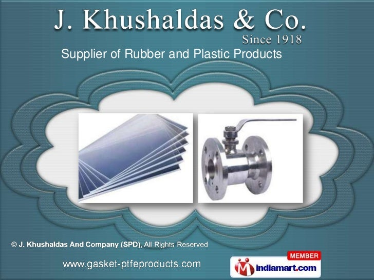 Supplier of Rubber and Plastic Products