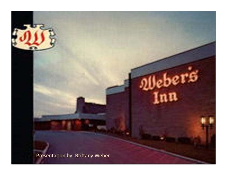 Weber's Inn- ADV420 Final