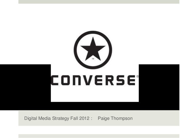 UCONVERSE Digital Strategy Fall 2012