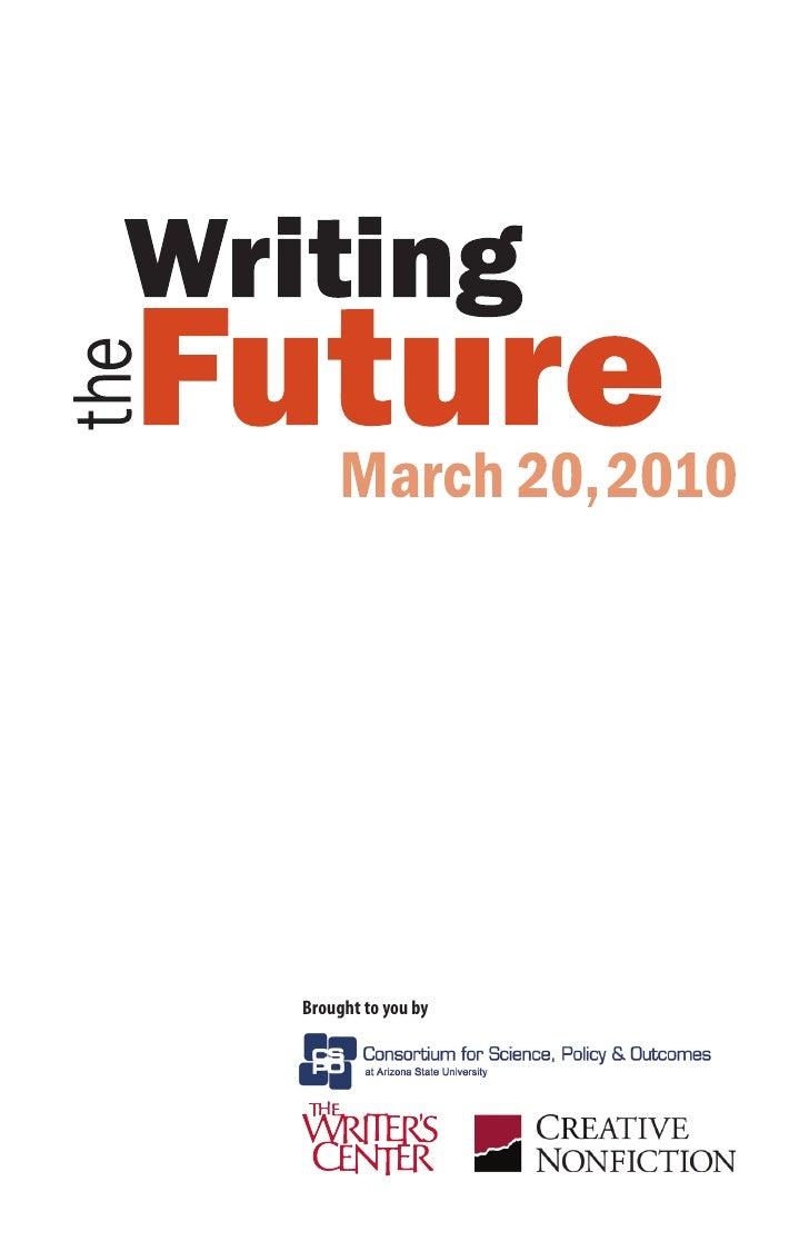Writing the Future Program
