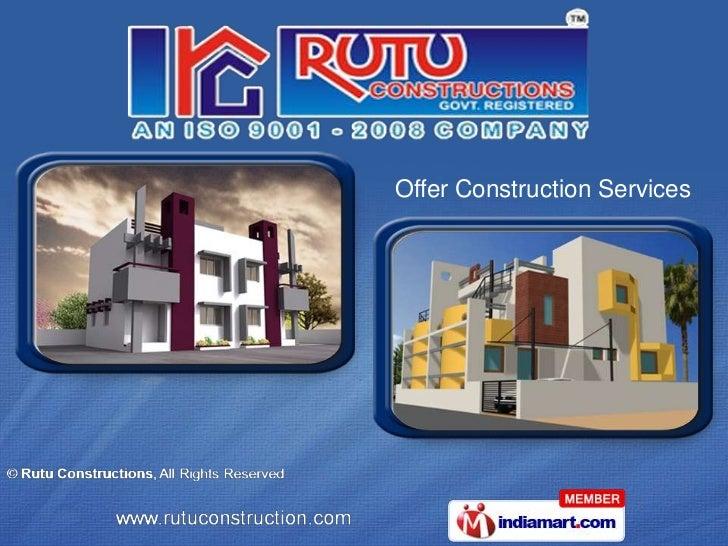 Rutu Constructions Gujarat India
