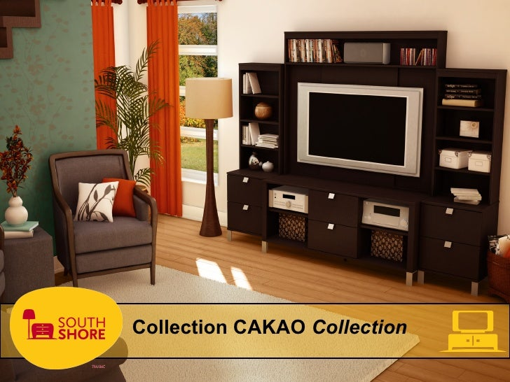 South Shore Furniture Cakao Collection  Meubles South
