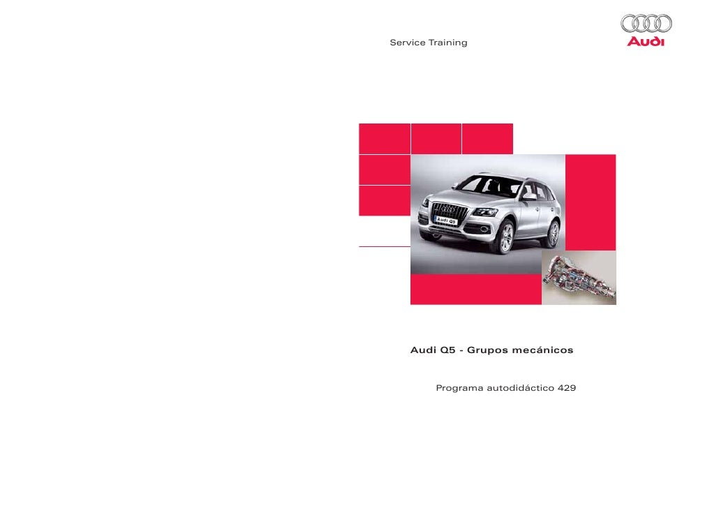 429 Audi Q5 Grupos Mecanicos Pdf