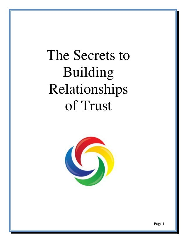 how to build trust and intimacy in a relationship