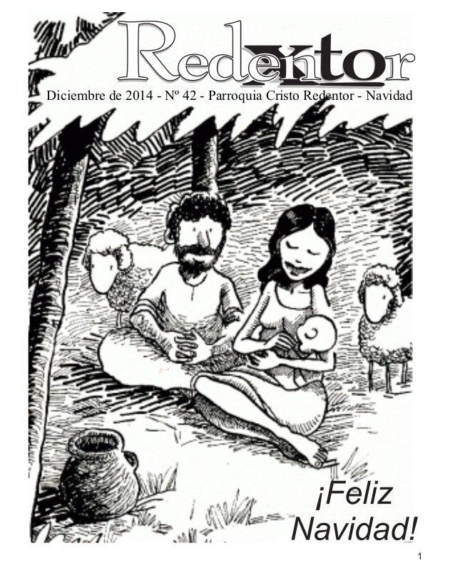 F Diciembre de 2014 - N° 42 - Parroquia Cristo Re ntor - Navidad           7JfitOÏf